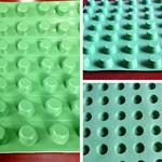 凹凸型排水板防水层设置方法-20mm凹凸型排水板厂家图文展示
