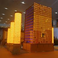 佛龛,万佛墙,牌位存放架,光明柱,智能控制万佛墙工程