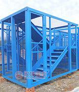箱式笼梯/安全爬梯    汉坤实业 价格实惠 专业厂家