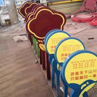 山东莱芜中创标识标牌厂家直销  质量好耐用性强 花草提示牌