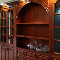 长沙高端原木家具采购体系、原木酒柜、展示柜定做设计理念