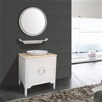 简约现代全实木橡木防潮小户型家用可定制浴室柜组合