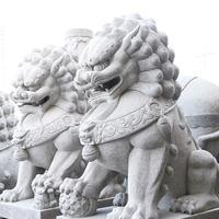 供应武汉石狮子|武汉石雕大象厂家