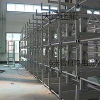 江苏6米管材专用货架 伸缩悬臂式结构设计 型材库钢材专属架子