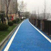 西安透水混凝土(蓝色)