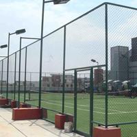 广东珠海动物园勾花网护栏操场体育围网运动场地围栏