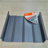 汽车站65-400直立锁边系统铝镁锰金属屋面厚度0.9mm