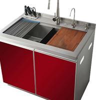 勃稂高集成水槽、集成灶、灶具、消毒柜、橱柜一体机