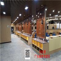 广州白云机场白色铝方通吊顶