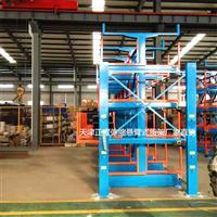山东环境工程集团案例伸缩悬臂式货架装车 运输 安装 调试 使用