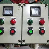 防爆操作柱/两钮两灯一表