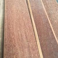 进口红铁木板材厂家 利比里亚红铁木户外建筑木条方