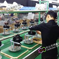 供应中山风扇灯装配线,江门风扇机头检测流水线,吊扇灯生产线