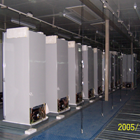 广州冰箱装配线,佛山红酒柜辊筒线生产线,冰柜老化线