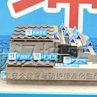 斜屋面样板展示 济南质量样板展示区厂家 汉坤实业