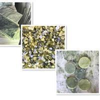 供应汗蒸房养生玉石颗粒发热沙浴沙 玉石板 按摩玉石片