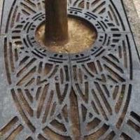 铸铁树池盖板