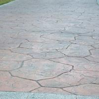 阜阳彩色水泥压模防滑防腐蚀性强阜阳压模路面制作养护材料