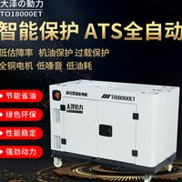 TO18000ET 大泽动力15kw静音柴油发电机