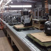 廉江电机装配生产线,阳江马达翻转机流水线,减速机滚筒线