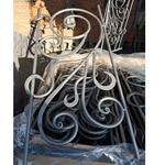 河北石家庄供应供应优质铁艺配件,铁艺梯花,花盘,标准弧代加工