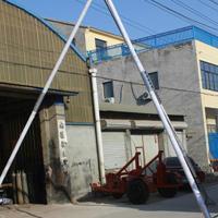 铝合金立杆机 10米12米15米 三脚扒杆