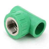 seefine世丰 家装绿PPR管 绿色管件 内丝三通