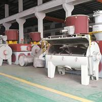 SRL-Z2000/4000W卧式高速混合机组生产厂家-云帆机械混料机组价格