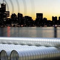 哈尔滨波纹钢管、镀锌波纹钢管、钢涵管、涵洞管、管涵、检查井