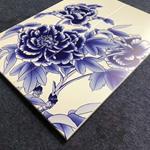 3D打印彩绘艺术铝单板-背景墙彩绘图画铝板材料