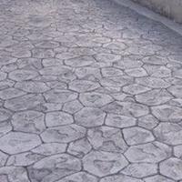 盐城压模道路铺装便捷盐城彩色压模地坪造型独特