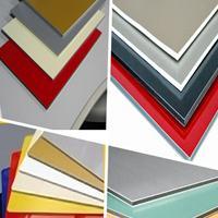 鋁塑板裝飾材料 背景墻裝飾用板材 拼圖壓紋 金屬鋁塑板