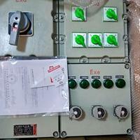 现场水泵防爆操作箱