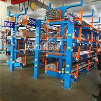 管材货架区别于悬臂式货架不同之处在于悬臂是否可以伸缩移动