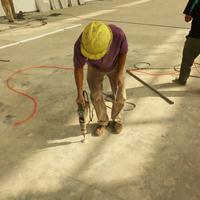 耐磨混凝土地面空鼓怎么办/空鼓灌浆技术
