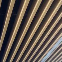 吊顶铝方通视角效果好 造型铝方通构造个性独特