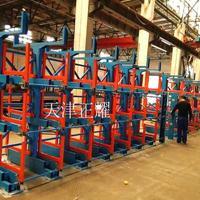 金华管材想要多层存放使用吊车用什么货架 伸缩悬臂式货架