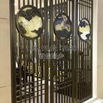 新中式不锈钢屏风 玫瑰金不锈钢屏风 专业厂家定制