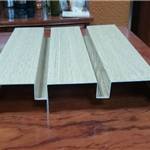 贴木皮铝板 铝板贴木皮 专业定制不起鼓
