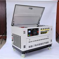 30千瓦静音汽油发电机机房备用