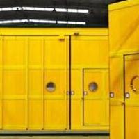 煤矿用高分子材料风门-复合材料无压风门技术特点