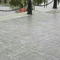 黄石地坪压模施工造型美观大方普林德整体成型