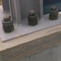 冬季高铁项目声屏障底座钢板安装充填用什么材料好