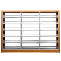 学生书架  多层书架  双面书架  钢制书架