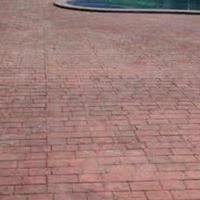 南京压模地坪模板色彩绚丽南京水泥压模地坪抗压强度高