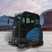 全封闭驾驶式扫地车 矿区清扫煤渣垃圾用大型清扫车