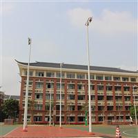 珠海担杆村夜间篮球场照明灯杆实施厂家给力体育