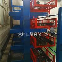 伸缩货架如何使用吊车存放管材 型材 钢材 钢棒 槽钢 角钢的