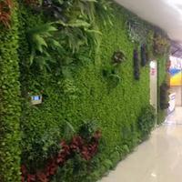 重庆仿真植物墙制作重庆装饰植物墙制作重庆仿真花布置重庆苔藓墙