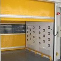 惠东风淋室保温卷帘门 风淋室电动快速卷帘门实力厂家